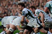 Martin Roberts of Northampton Saints in action during the LV= Cup Final match between Leicester Tigers and Northampton Saints at Sixways Stadium, Worcester on Sunday 18 March 2012 (Photo by Rob Munro, Fotosports International)