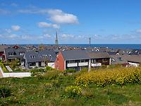 Skyline , Oberland, Insel Helgoland, Schleswig-Holstein, Deutschland, Europa<br /> skyline, Oberland, Helgoland island, district Pinneberg, Schleswig-Holstein, Germany, Europe