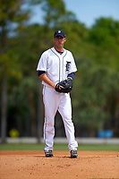 Detroit Tigers Kevin Ziomek (82) during a minor league Spring Training game against the Washington Nationals on March 21, 2016 at Tigertown in Lakeland, Florida.  (Mike Janes/Four Seam Images)