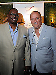 Ian Bush and Matthew Nuss at the Hotel Zaza's annual Spring Party Wednesday April 24, 2013.(Dave Rossman photo)