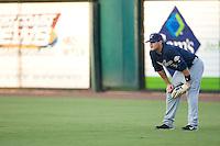 Right fielder Matt LaPorta (3) of the Huntsville Stars on defense at the Baseball Grounds in Jacksonville, FL, Thursday June 12, 2008.
