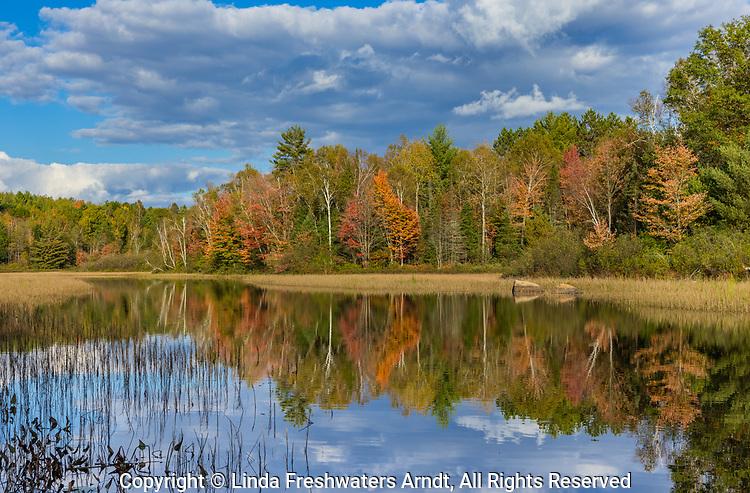The Chippewa River on a pretty autumn day.