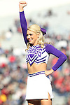 December 30, 2016: TCU cheerleader perform at halftime of the AutoZone Liberty Bowl inside Liberty Bowl Memorial Stadium in Memphis, Tennessee. ©Justin Manning/Eclipse Sportswire/Cal Sport Media