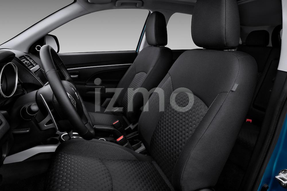 Front seats of a 2012 Mitsubishi Outlander Sport