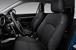 Front seats of a 2012 Mitsubishi Outlander Sport