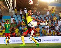 Colombia's Juan Guillermo Cuadrado (r) and Cameroon's Michael Ngadeu Ngadjui during international friendly match. June 13,2017.(ALTERPHOTOS/Acero) (NortePhoto.com) (NortePhoto.com)
