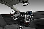 2010 Cadillac SRX Performance passenger side dashboard view.