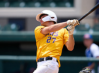 Union County Fightin' Tigers Tripp Davis (27) during the 42nd Annual FACA All-Star Baseball Classic on June 6, 2021 at Joker Marchant Stadium in Lakeland, Florida.  (Mike Janes/Four Seam Images)