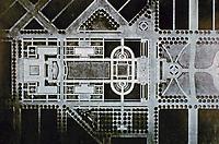 Plan for Denver, Colorado Civic Center, 1912. Arnold Brunner and F.L. Olmsted, Jr.