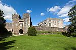 Great Britain, England, Devon, near Totnes: Berry Pomeroy Castle ruins | Grossbritannien, England, Devon, bei Totnes: Berry Pomeroy Schlossruinen