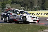 Round 2 of the 2007 British Touring Car Championship. #15 Martyn Bell (GBR). Team Allaboutproperty.com. BMW E46 320i.