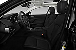 Front seat view of a 2018 Jaguar XE Base 4 Door Sedan front seat car photos