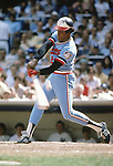 BRONX, NY - 1974:  Rod Carew #29 of the Minnesota Twins swings at a pitch at Yankee Stadium in Bronx, New York circa 1974.  (Photo by Rich Pilling)
