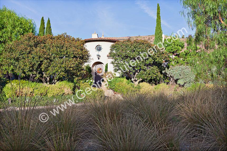 Stock photo of Mediterranean style home