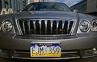 USA, Alaska, Auto in Fairbanks