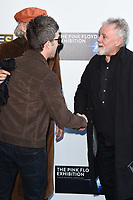 Noel Gallagher  and Roger Taylor<br /> at the private view of The Pink Floyd Exhibition: Their Mortal Remains at the V&A Museum, London. <br /> <br /> <br /> ©Ash Knotek  D3264  09/05/2017