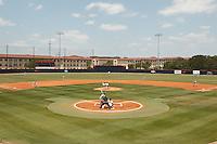 SAN ANTONIO, TX - MAY 7, 2011: The Texas State University Bobcats vs. the University of Texas at San Antonio Roadrunners Baseball at Roadrunner Field. (Photo by Jeff Huehn)