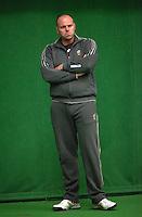 29-1-10, Almere, Tennis, Training Fedcup team, Raymond Knaap coach jong oranje