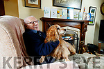 Michael O'Connor, Killarney, who celebrated his 107th birthday pictured with his dog Rua.