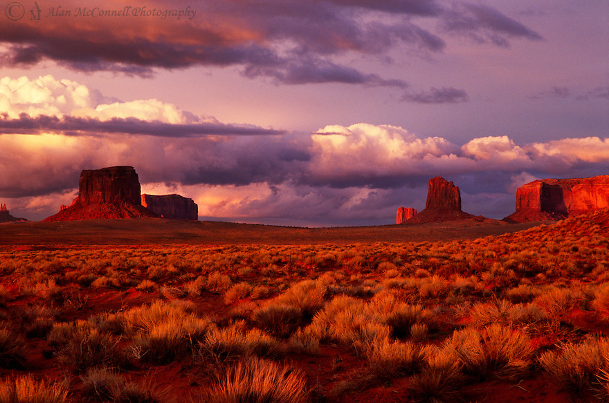 """Monument Valley Sunset""<br />