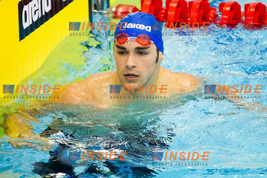 Szczecin, Poland, 9 december 2011.European Short Course Swimming Champioships 2011.100m Freestyle men.Lucio Spadaro (ITA)..Photo: Insidefoto / Guido Cantini