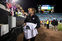 USWNT fans, Abby Wambach.  The USWNT defeated Scotland, 4-1, during a friendly at EverBank Field in Jacksonville, Florida.