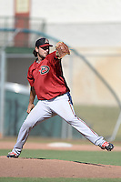 Arizona Diamondbacks pitcher Blayne Weller (45) during an instructional league game against the San Francisco Giants on October 3, 2013 at Giants Baseball Complex in Scottsdale, Arizona.  (Mike Janes/Four Seam Images)