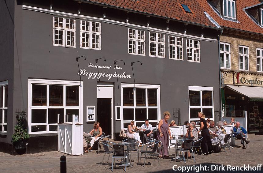Daenemark, Seeland, Altstadt von Roskilde bei Kopenhagen