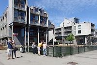 Neue Wohngebäude am Westhafen,  Malmö, Provinz Skåne (Schonen), Schweden, Europa<br /> New residential buildings at Westport in Malmö, Sweden