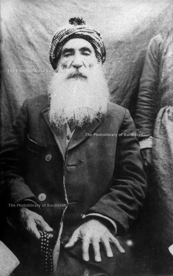 Turkey 1925.Sheikh Said, leader of the Kurdish nationalist rebellion.Turquie 1925.Sheikh Said , chef de la revolte kurde contre le gouvernement d'Ataturk