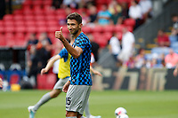 Marko Grujić of Hertha Berlin giving a thumbs up during the pre season friendly match between Crystal Palace and Hertha BSC at Selhurst Park, London, England on 3 August 2019. Photo by Carlton Myrie / PRiME Media Images.