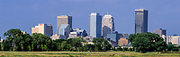 Oklahoma City Skyline, Oklahoma, USA.