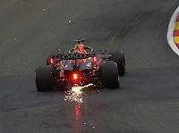 27th August 2021; Spa Francorchamps, Stavelot, Belgium: FIA F1 Grand Prix of Belgium, free practise:  Max Verstappen NEL 33 , Red Bull Racing Honda