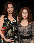 Donna Murphy and Bernadette Peters during the Urban Stages' 35th Anniversary celebrating Women in the Arts at the Central Park Boat House on May 15, 2019 in New York City.