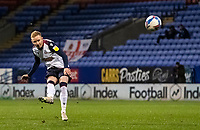 Bolton Wanderers' Ali Crawford takes a free kick <br /> <br /> Photographer Andrew Kearns/CameraSport<br /> <br /> The EFL Sky Bet League Two - Bolton Wanderers v Mansfield Town - Tuesday 3rd November 2020 - University of Bolton Stadium - Bolton<br /> <br /> World Copyright © 2020 CameraSport. All rights reserved. 43 Linden Ave. Countesthorpe. Leicester. England. LE8 5PG - Tel: +44 (0) 116 277 4147 - admin@camerasport.com - www.camerasport.com