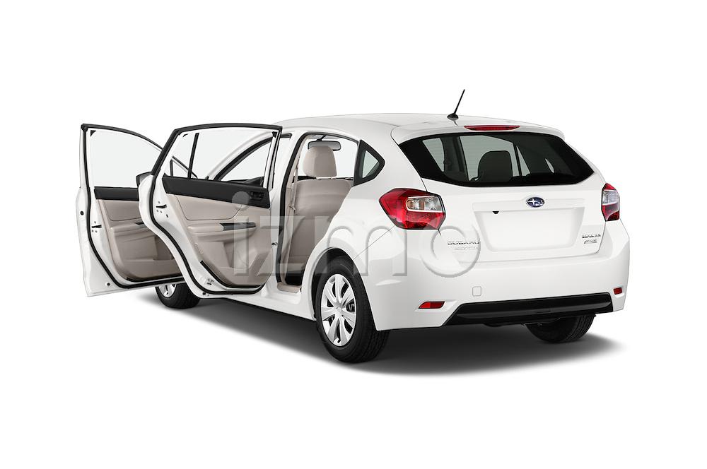 Car images of a 2015 Subaru Impreza 2.0I Auto 4 Door Hatchback Doors