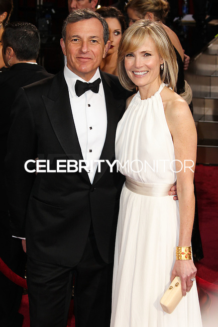 HOLLYWOOD, LOS ANGELES, CA, USA - MARCH 02: Bob Iger, Willow Bay at the 86th Annual Academy Awards held at Dolby Theatre on March 2, 2014 in Hollywood, Los Angeles, California, United States. (Photo by Xavier Collin/Celebrity Monitor)