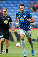 Marko Grujić of Hertha Berlin jogging during the pre season friendly match between Crystal Palace and Hertha BSC at Selhurst Park, London, England on 3 August 2019. Photo by Carlton Myrie / PRiME Media Images.
