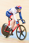 Katie Archibald of Great Britain competes on the Women's Omnium Points Race 4/4  during the 2017 UCI Track Cycling World Championships on 14 April 2017, in Hong Kong Velodrome, Hong Kong, China. Photo by Chris Wong / Power Sport Images