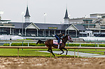 April 29, 2021: Morazgallops in preparation for the Kentucky Oaks at Churchill Downs in Louisville, Kentucky on April 29, 2021. EversEclipse Sportswire/CSM