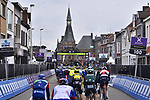 The start of the 108th Edition of Scheldeprijs 2020 running 173.3km from Schoten to Schoten, Belgium. photo Peter De Voecht/PN/BettiniPhoto©2020. 14th October 2020.  <br /> Picture: Bora-Hansgrohe/Peter De Voecht/PN/BettiniPhoto | Cyclefile<br /> <br /> All photos usage must carry mandatory copyright credit (© Cyclefile | Bora-Hansgrohe/Peter De Voecht/PN/BettiniPhoto)