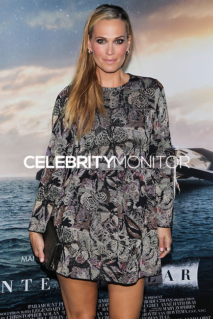 HOLLYWOOD, LOS ANGELES, CA, USA - OCTOBER 26: Molly Sims arrives at the Los Angeles Premiere Of Paramount Pictures' 'Interstellar' held at the TCL Chinese Theatre on October 26, 2014 in Hollywood, Los Angeles, California, United States. (Photo by Celebrity Monitor)