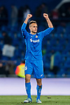 Juan Torres Ruiz, Cala, of Getafe CF celebrates his team's victory during the La Liga 2017-18 match between Getafe CF and Malaga CF at Coliseum Alfonso Perez on 12 January 2018 in Getafe, Spain. Photo by Diego Gonzalez / Power Sport Images