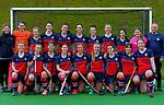 Tasman team photo. 2021 National Women's Under-18 Hockey Tournament at National Hockey Stadium in Wellington, New Zealand on Tuesday, 13 July 2021. Photo: Dave Lintott / lintottphoto.co.nz https://bwmedia.photoshelter.com/gallery-collection/Under-18-Hockey-Nationals-2021/C0000T49v1kln8qk