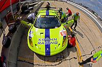 #61 (GT2) Risi Competizione Ferrari 430 GT, Tracy Krohn, Nic Jonsson & Eric van de Poele