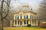 Victorian home. Philip Chapin House 1866. Italianate Victorian.