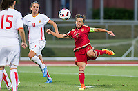 Spain's Sonia Bermudez during the match of  European Women's Championship 2017 at Las Rozas, between Spain and Montenegro. September 15, 2016. (ALTERPHOTOS/Rodrigo Jimenez) /NORTEPHOTO
