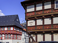 Hotel zur Börse Obere Mühlenstr./Bergstr., Goslar, Niedersachsen, Deutschland, Europa, UNESCO-Weltkulturerbe<br /> Hotel zur Börse, Obere Mühlen St. , Goslar, Lower Saxony,, Germany, Europe, UNESCO Heritage Site