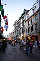 Montreal (Qc) Canada - august 1st 2009 - old-Montreal