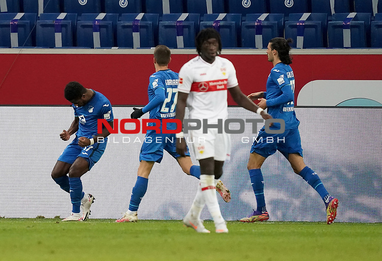 21.11.2020, PreZero-Arena, Sinsheim, GER, 1.FBL, TSG 1899 Hoffenheim vs VfB Stuttgart , <br />